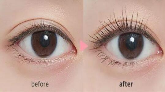 睫毛养护效果
