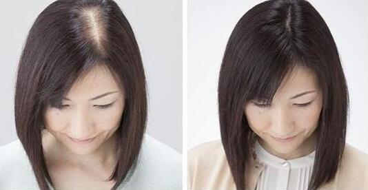 头发加密效果