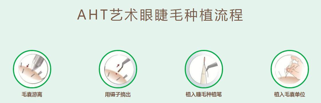 睫毛种植流程